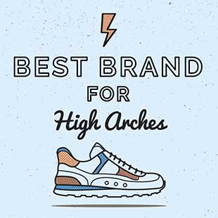 sneakers for high arches
