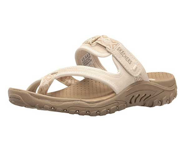 skechers sandals with arch support
